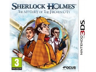3ds Sherlock Holmes The Mystery Of The Frozen City