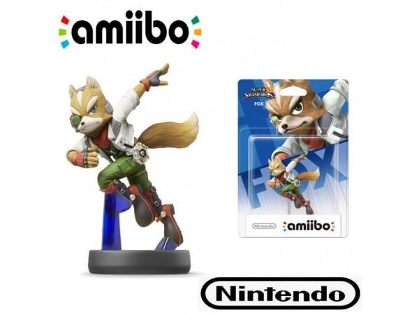 AMIIBO FOX FIGURU