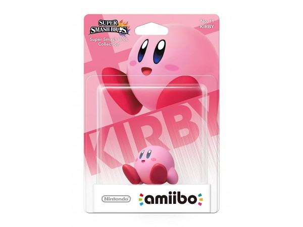 AMIIBO KIRBY FIGURU SUPER SMASH BROS SERIES