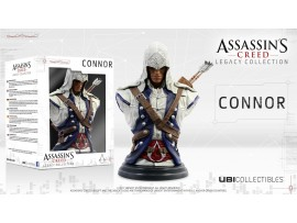 ASSASSIN'S CREED CONNOR BUST LEGACY COLLECTION UBI COLLECTIBLES