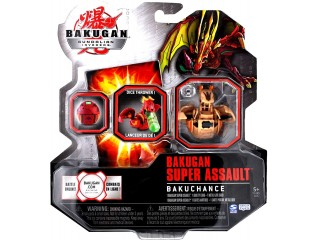 BAKUGAN GUNDALIAN INVADERS SUPER ASSAULT SERIES BAKUCHANCE SINGLE FIGURE