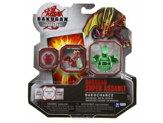 BAKUGAN GUNDALIAN INVADERS SUPER ASSAULT SERIES BAKUCHANCE V1 SINGLE FIGURE