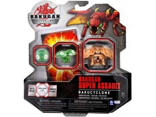 BAKUGAN GUNDALIAN INVADERS SUPER ASSAULT SERIES BAKUCYCLONE SINGLE FIGURE