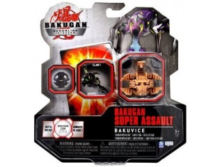 BAKUGAN GUNDALIAN INVADERS SUPER ASSAULT SERIES BAKUVICE SINGLE FIGURE