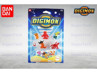 BANDAI DIGIMON 6 LI MINI SET - SERI 1 ORJINAL URUN