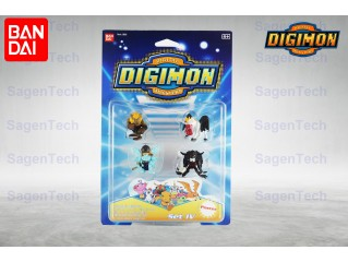 BANDAI DIGIMON 6 LI MINI SET - SERI 4 ORJINAL URUN