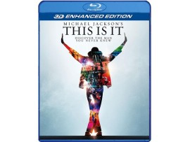 BLU-RAY FILM MICHAEL JACKSON THIS IS IT 3D ENHANCED EDITION