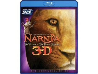 BLU-RAY FILM NARNIA THE VOYAGE OF THE DAWN TREADER 3D