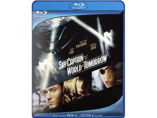 BLU-RAY FILM SKY CAPTAIN AND THE WORLD OF TOMORROW