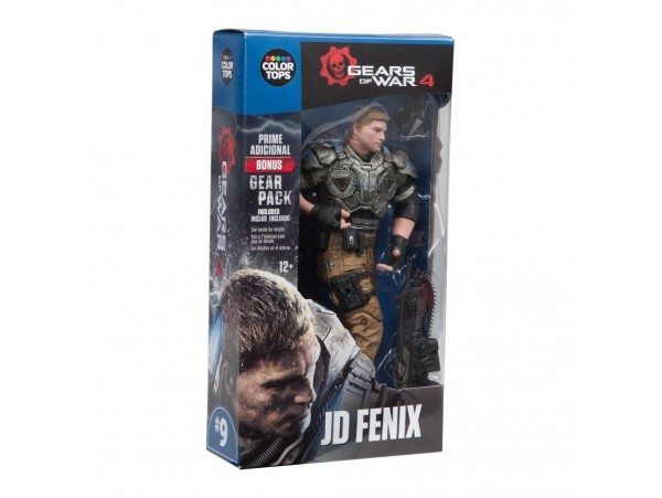 COLOR TOPS GEARS OF WAR 4 JD FENIX FIGURU