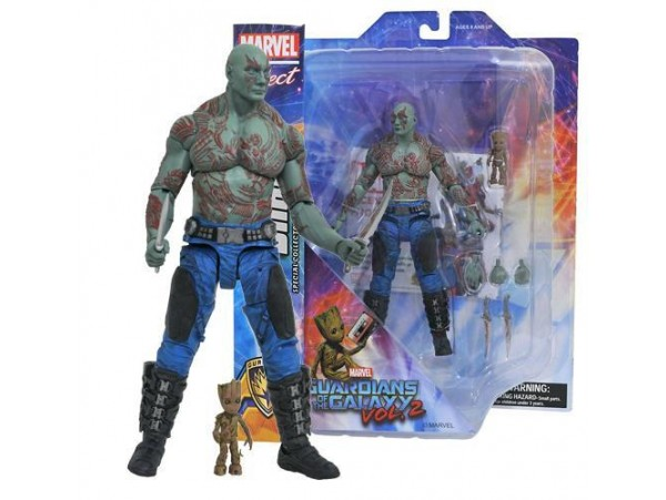 DIAMOND SELECT GUARDIANS OF THE GALAXY MARVEL SELECT DRAX & BABY GROOT