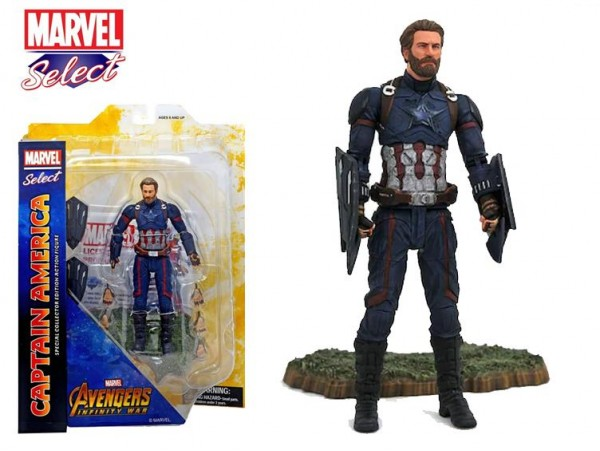 Diamond Select Toys Marvel Avengers Captain America