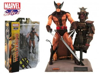 DIAMOND SELECT TOYS MARVEL BROWN UNIFORM WOLVERINE FIGURU