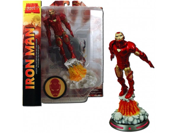 DIAMOND SELECT TOYS MARVEL IRON MAN FIGURU