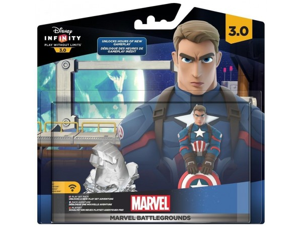 DISNEY INFINITY 3.0 MARVEL BATTLEGROUND FIGUR
