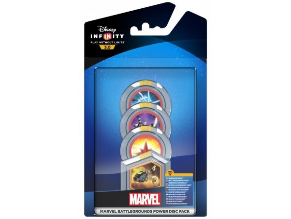 DISNEY INFINITY 3.0 MARVEL BATTLEGROUNDS POWER DISC - OYUN DEGILDIR!!!