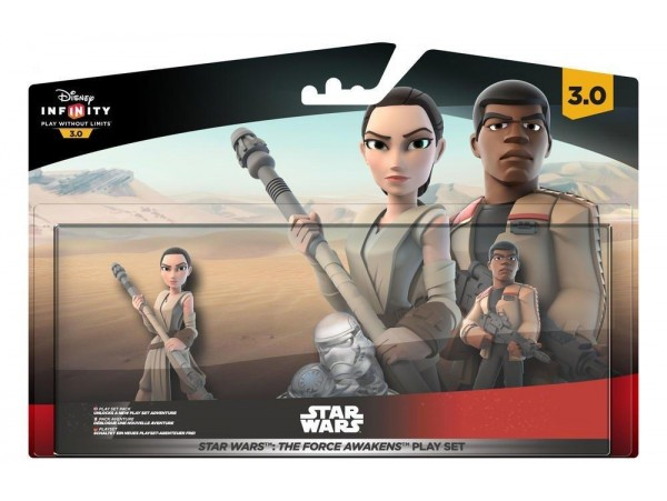 DISNEY INFINITY 3.0 STAR WARS FORCE AWAKENS PLAY SET