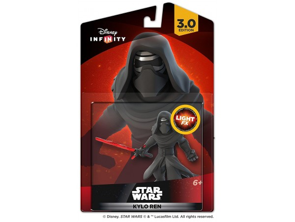 DISNEY INFINITY 3.0 STAR WARS LIGHT FX KYLO REN FIGURU