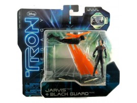 DISNEY SPIN MASTERS TRON LEGACY JARVIS + BLACK GUARD