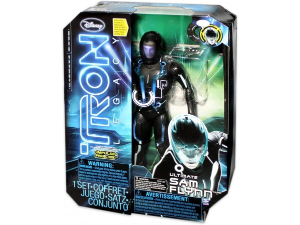 DISNEY SPINMASTER TRON LEGACY ULTIMATE SAM FLYNN 12 INC FIGUR