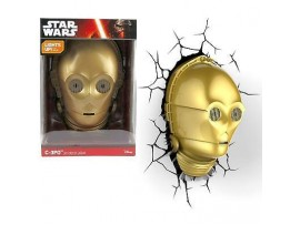 DISNEY STAR WARS C-3PO 3D DECO LIGHT