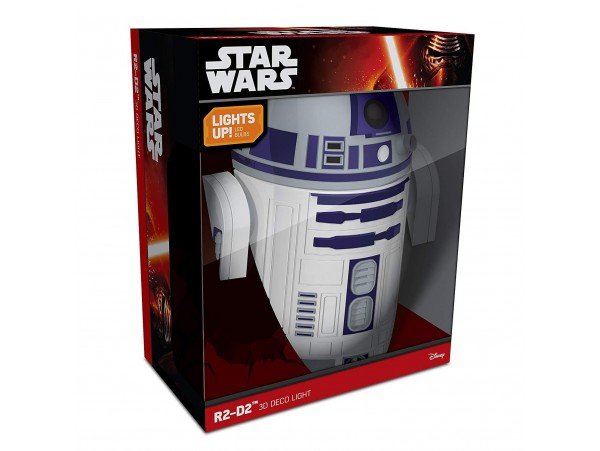DISNEY STAR WARS R2-D2 3D DECO LIGHT