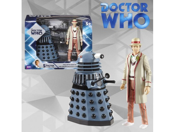 Doctor Who 5th Doctor With Dalek (resurrectione Of The Daleks)- Underground Toys