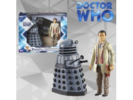 DOCTOR WHO 7TH DOCTOR WITH DALEK (REMEMBRANCE OF THE DALEKS)- UNDERGROUND TOYS