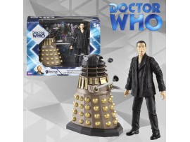 DOCTOR WHO 9TH DOCTOR WITH DALEK (THE PARTING OF THE WAYS)- UNDERGROUND TOYS