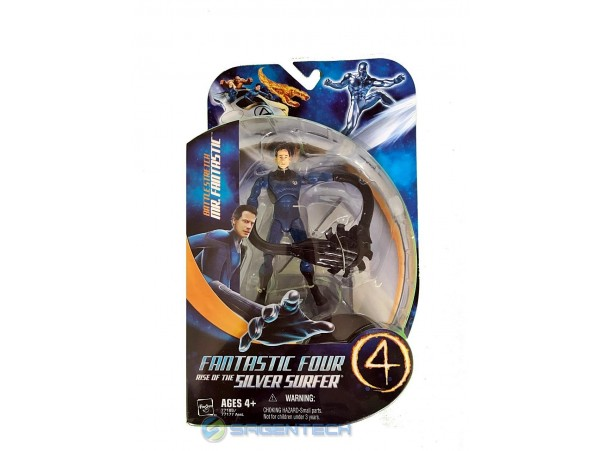 FANTASTIC FOUR 2 BATTLE STRETCH MR. FANTASTIC FIGUR 14 CM HASBRO