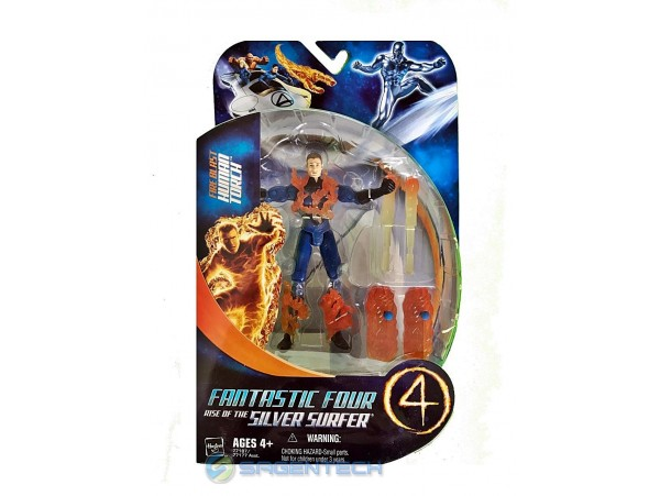 FANTASTIC FOUR 2 FIRE BLAST HUMAN TORCH ACTION FIGUR 14 CM HASBRO