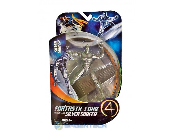 FANTASTIC FOUR 2 SILVER SURFER ACTION FIGUR 14 CM HASBRO