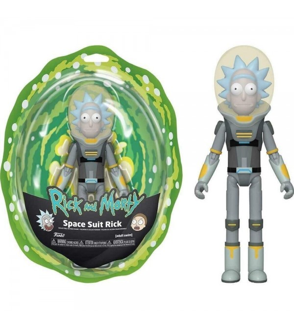 FUNKO ACTION FIGURE RICK & MORTY SPACE SUIT RICK 13CM