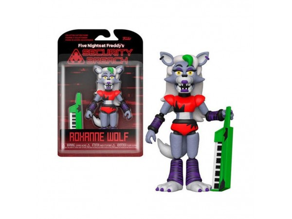 Funko Friday Night At Freddys Security Breach Roxanne Wolf Action Figür