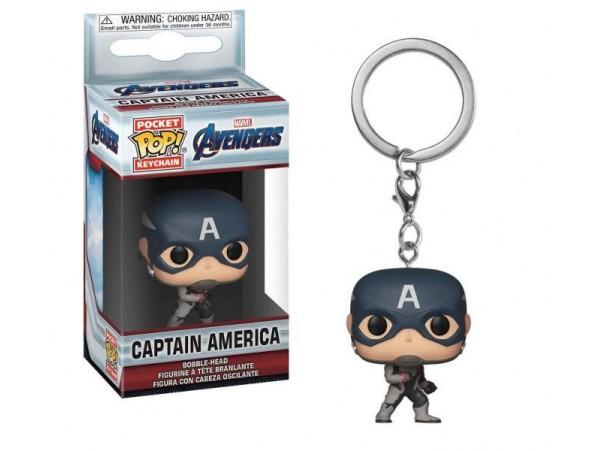 FUNKO POCKET POP MARVEL AVENGERS Captain America ANAHTARLıK