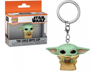 FUNKO POCKET POP STAR WARS THE CHILD WITH CUP ANAHTARLIK