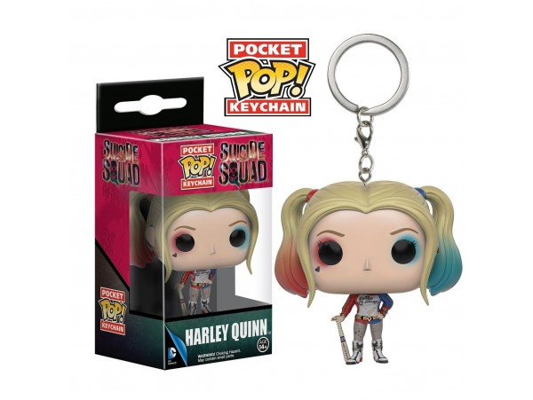 Funko Pocket Pop Suicide Squad Harley Quinn Anahtarlık