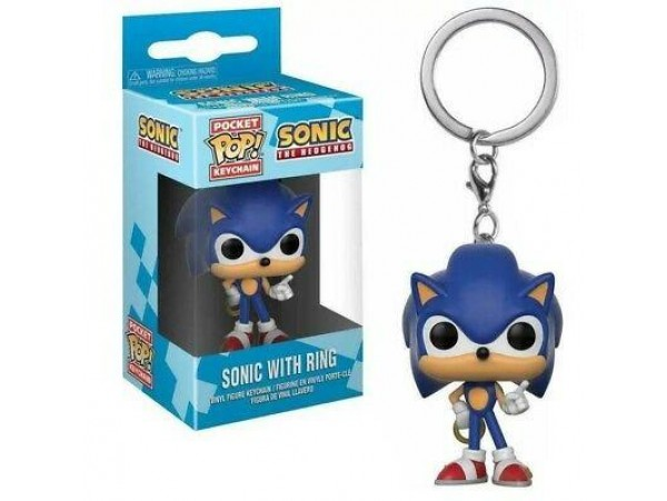FUNKO POCKET POP THE HEDGEHOG  - SONIC WITH RING ANAHTARLIK
