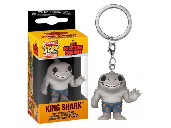 Funko Pocket Pop The Suicide Squad King Shark Anahtarlık