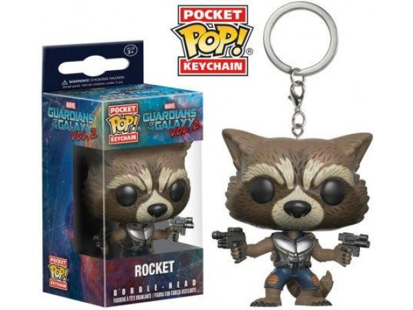 FUNKO POKET POP GUARDIANS OF THE GALAXY ROCKET ANAHTARLIK