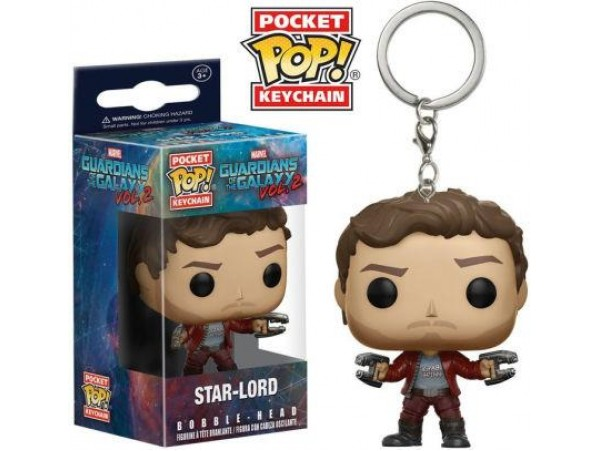 FUNKO POKET POP GUARDIANS OF THE GALAXY STAR-LORD ANAHTARLIK