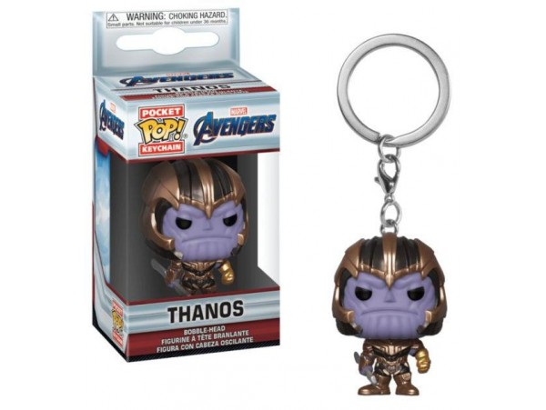 FUNKO POKET POP MARVEL AVENGERS THANOS ANAHTARLIK