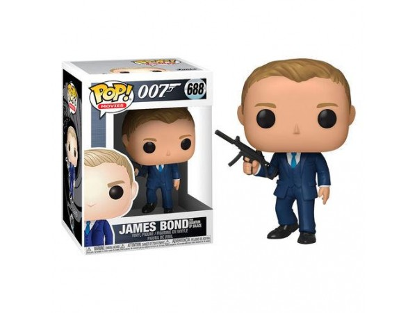 FUNKO POP 007 JAMES BOND FROM QUANTUM OF SOLACE FIGURU
