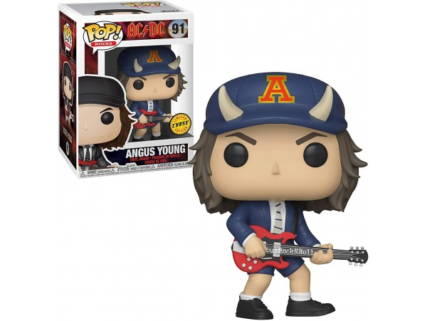 FUNKO POP AC DC ANGUS YOUNG CHASE LIMITED EDITION
