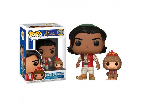 FUNKO POP ALADDIN OF AGRABAH WITH ABU FIGURU