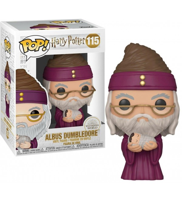 FUNKO POP ALBUS DUMBLEDORE WITH BABY HARRY POTTER