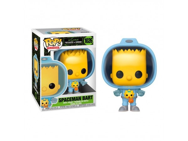 Funko Pop Animation - The Simpsons S4 Treehouse Spaceman Bart Figürü