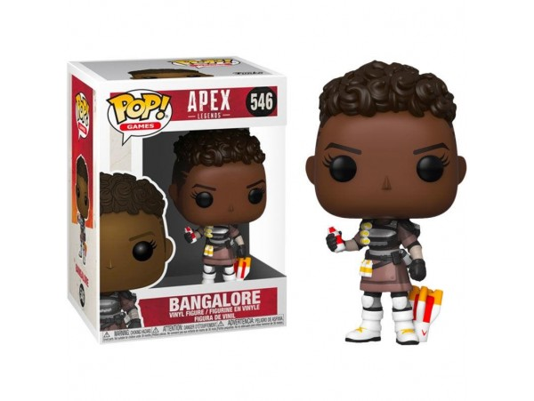 FUNKO POP APEX LEGENDS BANGALORE FIGURU