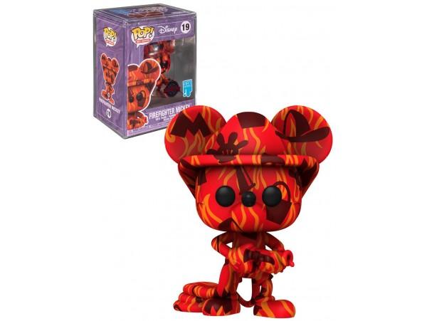 Funko Pop Artist Series: Mickey- Firefighter Mickey + Sert Koruma Kabı