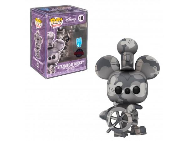 Funko Pop Artist Series: Mickey- Steamboat Mickey + Sert Koruma Kabı